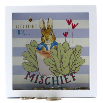 Beatrix Potter Money Bank: Getting Into Mischief