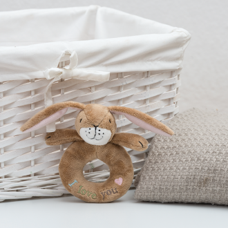 Guess How Much I Love You - Little Nutbrown Hare Ring Rattle