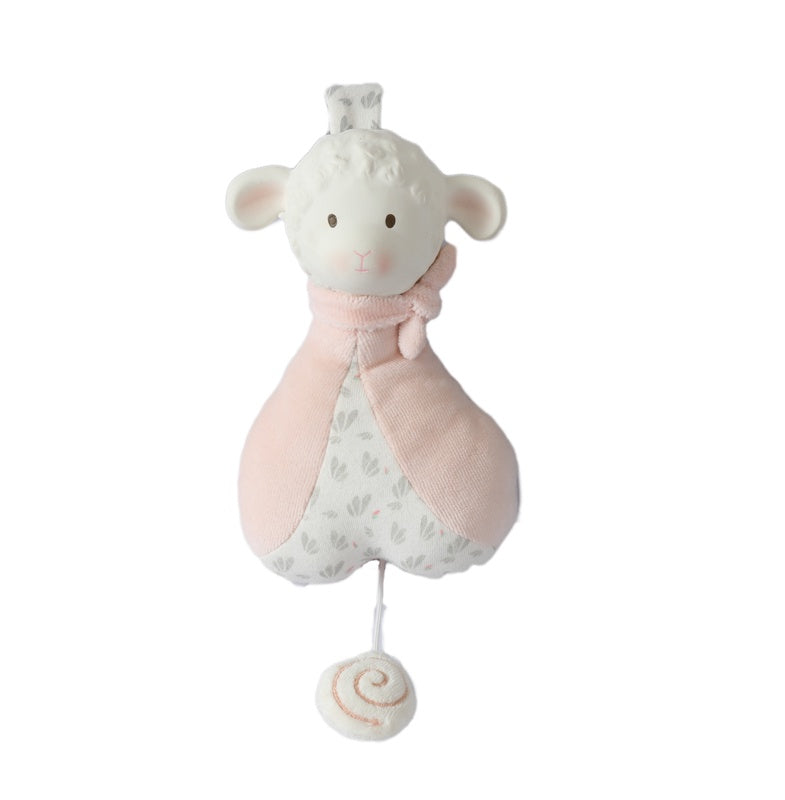 Lila Lamb Pink Musical Toy