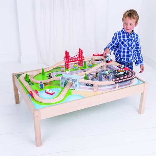City Train Set and Table