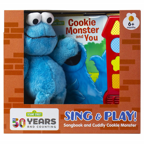 Cookie Monster Book & Plush