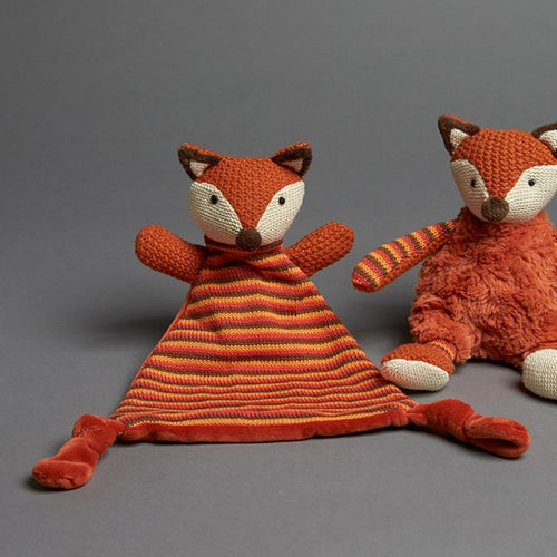 Plush Rust Fox Soother