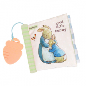 Beatrix Potter: Peter Rabbit Soft Book With Teether