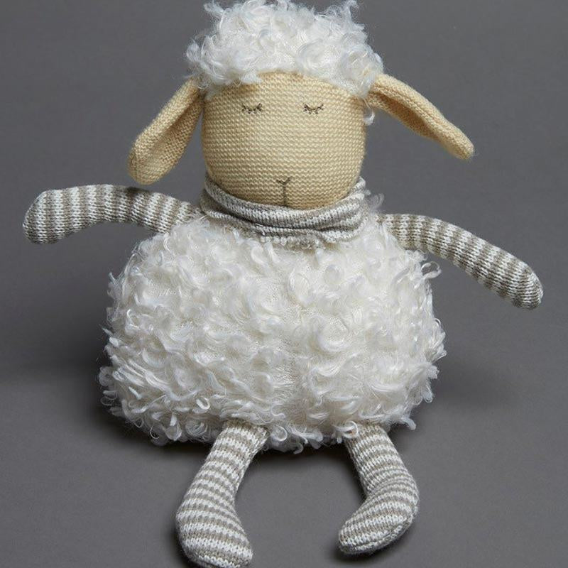 White Plush Sheep