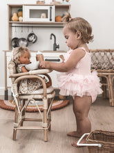 Load image into Gallery viewer, Tiny Harlow Rattan Dolls Highchair