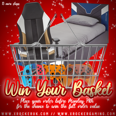 DAY 12 - WIN YOUR BASKET!