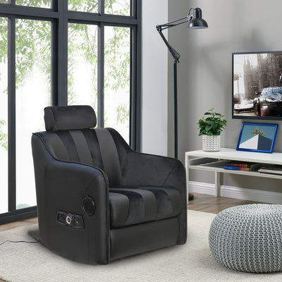 The Captain 2.1 Audio Rocking Sofa Chair