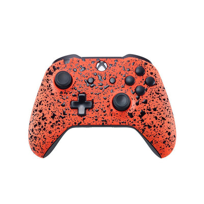 Xbox One Custom Controller - 3D Orange Splash Edition