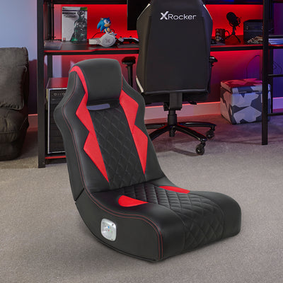 NEW! X Rocker® Flash+ 2.0 Gaming Chair - Red
