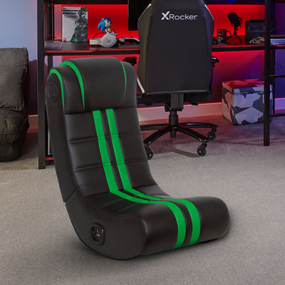 NEW! X Rocker® SE+ 2.0 Bluetooth Gaming Chair - Green