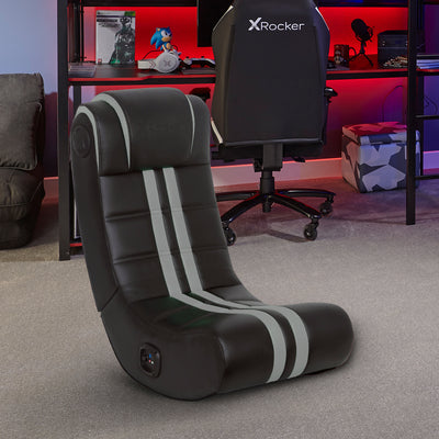 NEW! X Rocker® SE+ 2.0 Bluetooth Gaming Chair - Gray