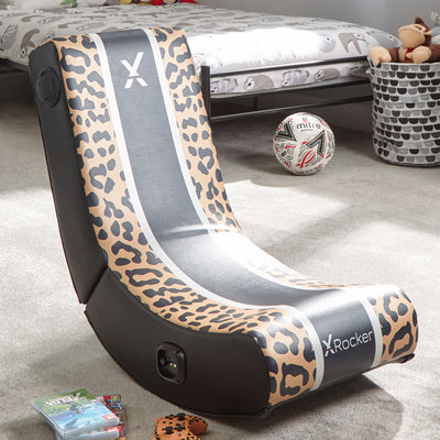 X Rocker® Animal Rocker 2.0 Bluetooth - Leopard
