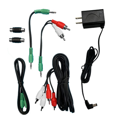 9V/1A Power Supply and Audio Kit