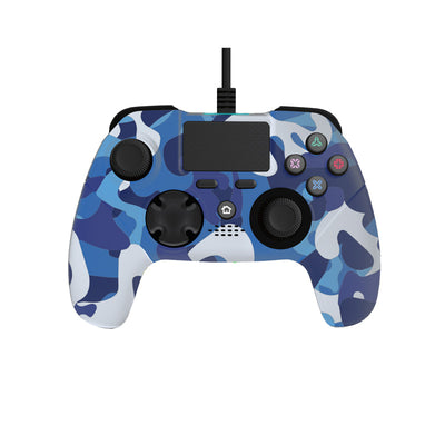 Playstation 4 Wired Controller Blue Camo Edition