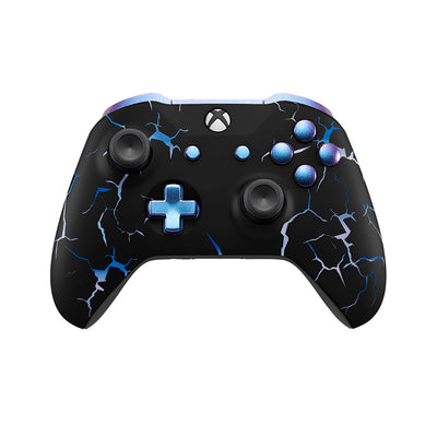 XBox One Custom Controller in Blue Storm | #3000001