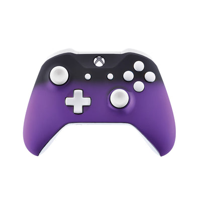 Xbox One Custom Controller - Purple Shadow & White Edition