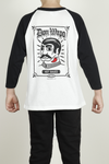Youth Don Wapo Classic Baseball 3/4 Sleeve Tee