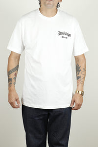 Mens OG Don Wapo Back Logo Tee White