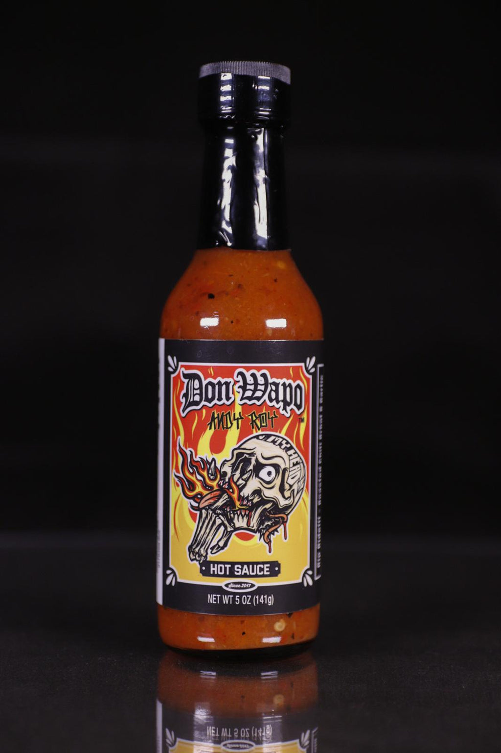 Andy Roy Limited Edition RE-LABEL Don Wapo La Primera Colab Hot Sauce
