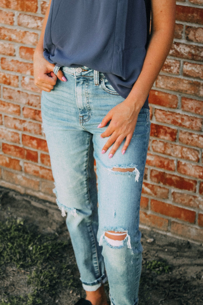 Tobi High Rise Relaxed Fit Jeans