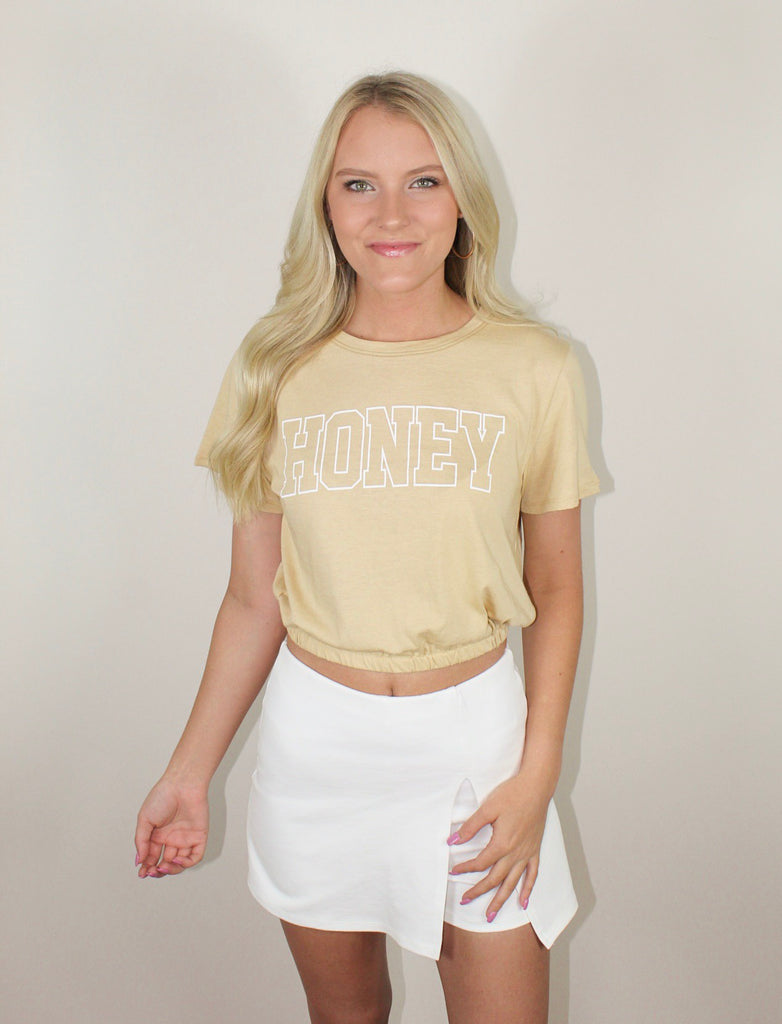 """Honey"" Crop Top"