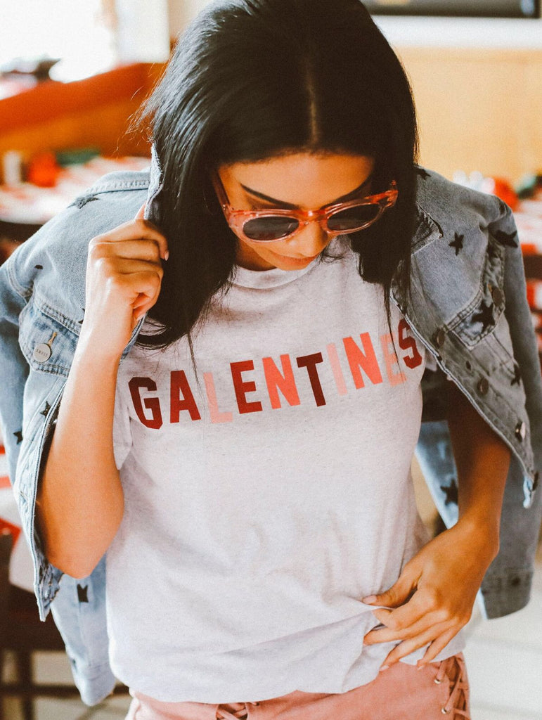 "Friday+Saturday ""Galentines"" Tee"
