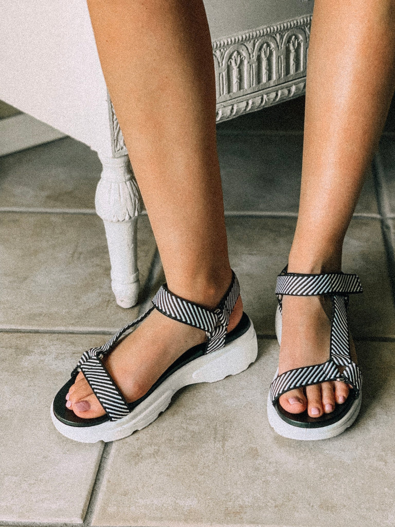 Take Me Places Sandals