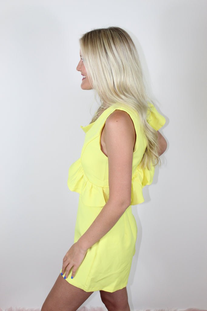 Lemon Drop Romper