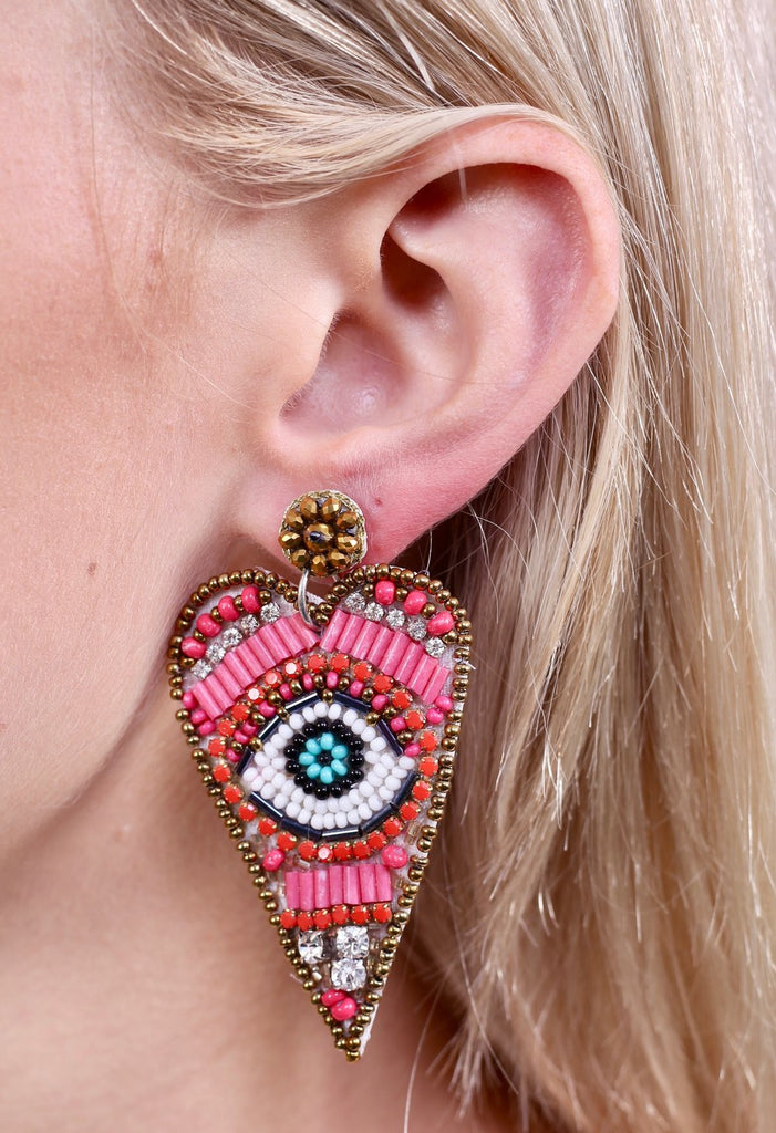 In Love With Eyes Earrings