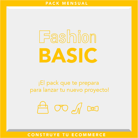 Pack Basic for fashion brand 3 meses