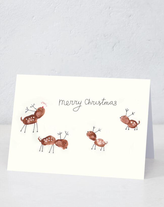 Rudolph and friends (Designed by patient artists Max and brother Levi)
