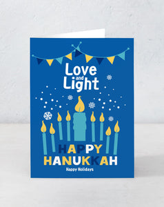 Happy Hanukkah - Love and Light