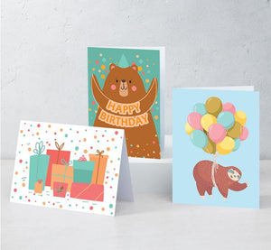 "Boxed Assortment of 15 Cards: ""Celebration Set"""
