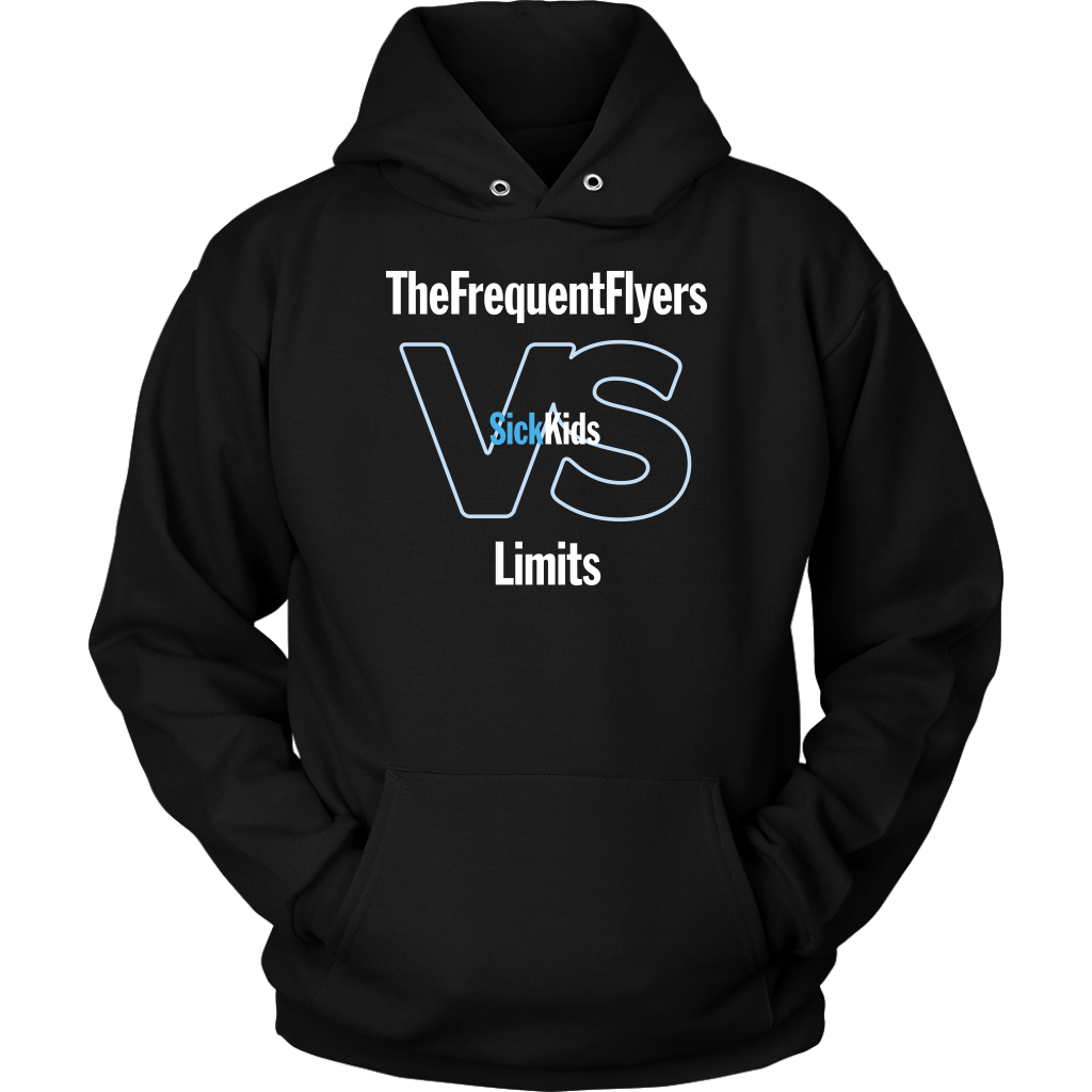 SickKids Crew: The Frequent Flyers VS Limits Hoodie