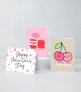 Boxed Assortment of 15 Cards: Valentine's Day Set