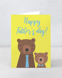 Happy Father's Day - Bears