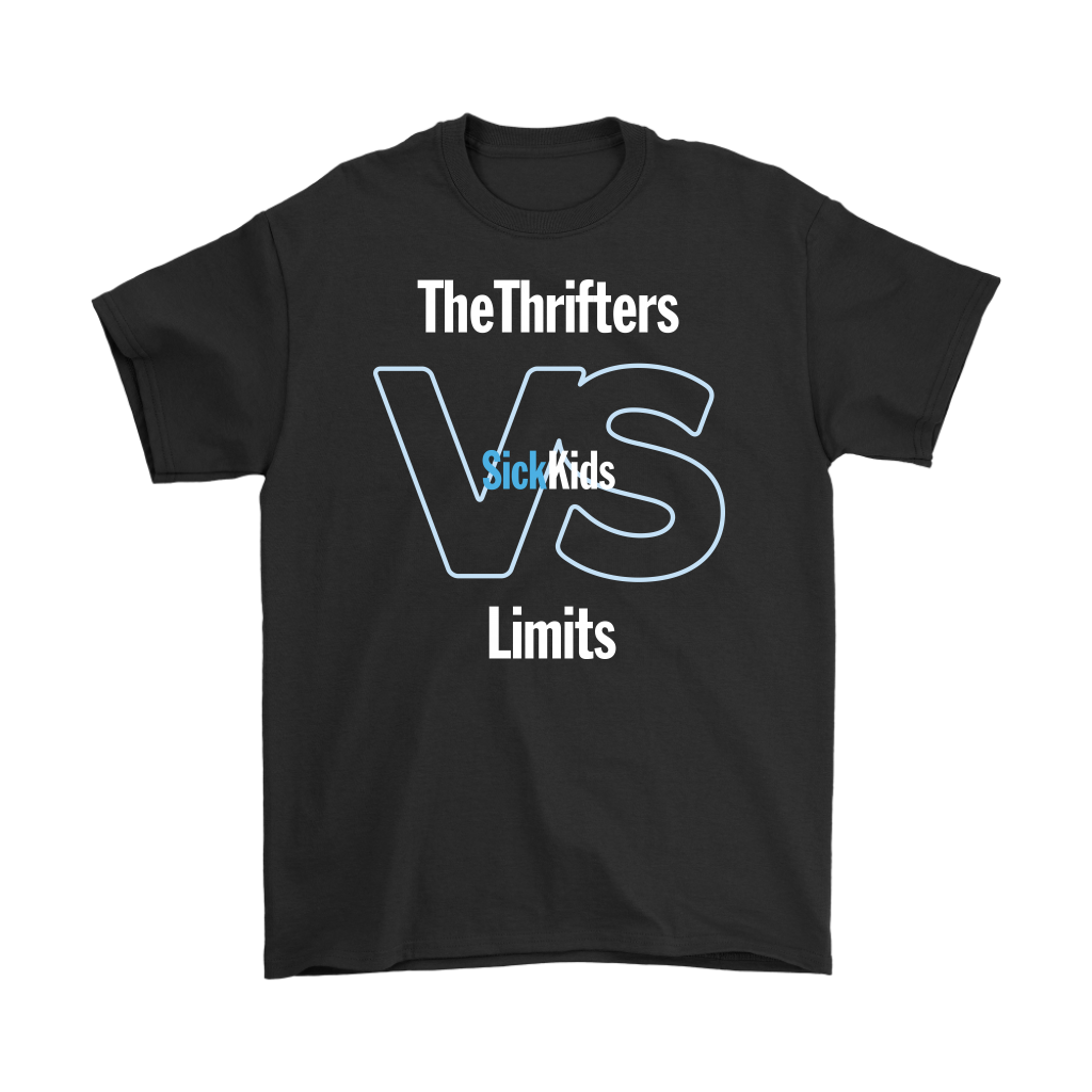 SickKids Crew: The Thrifters VS Limits T-shirt