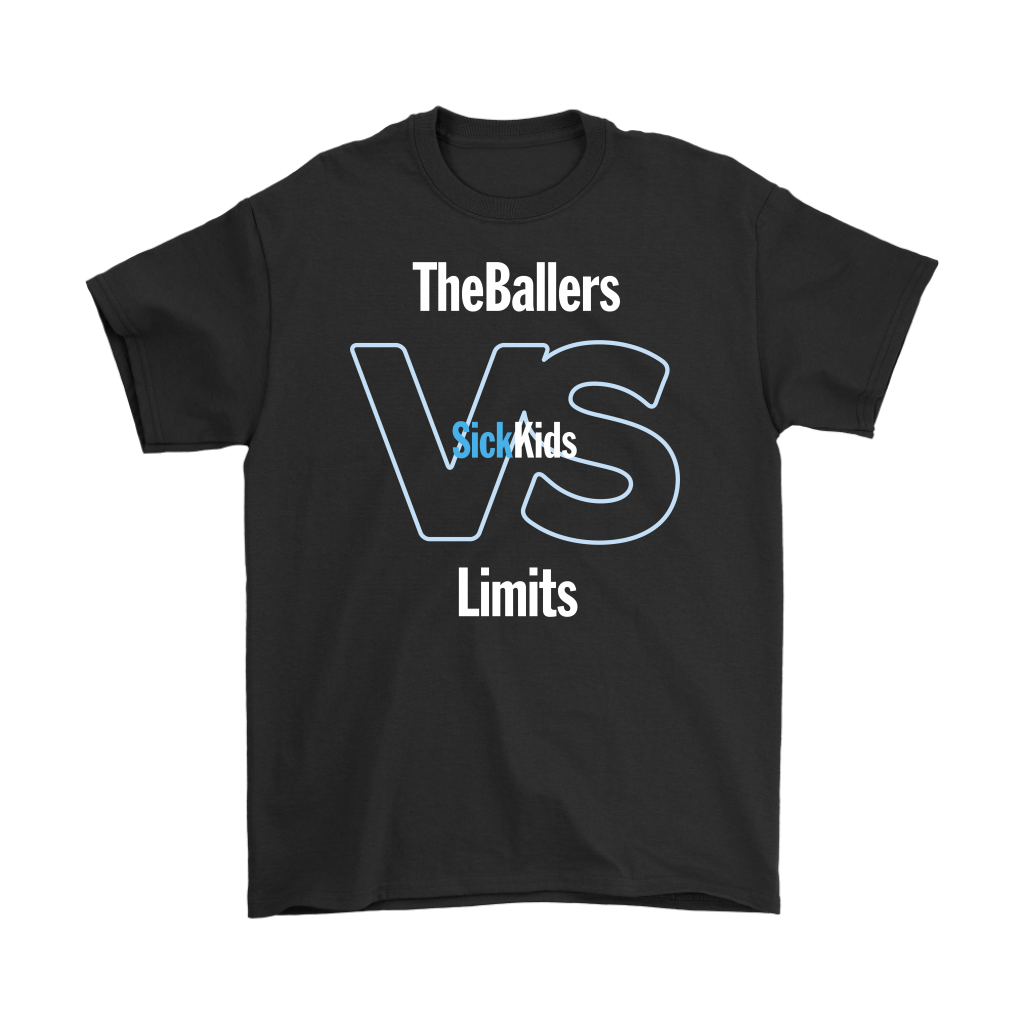 SickKids Crew: The Ballers VS Limits T-shirt