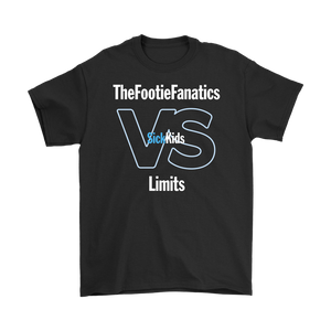 SickKids Crew: The Footie Fanatics VS Limits T-shirt