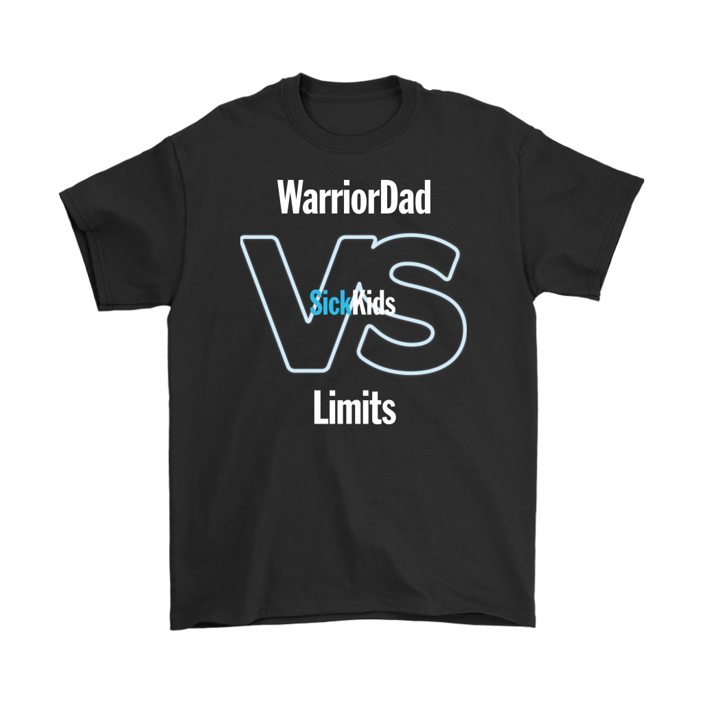 SickKids Crew: Warrior Dad VS Limits T-shirt