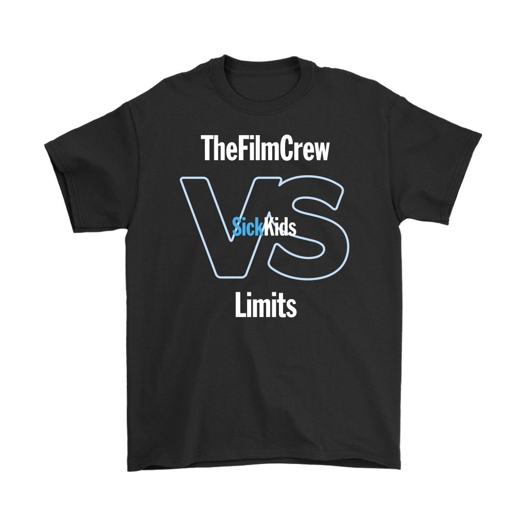 SickKids Crew: The Film Crew VS Limits T-shirt