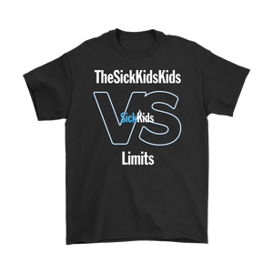 SickKids Crew: The SickKids Kids VS Limits T-shirt