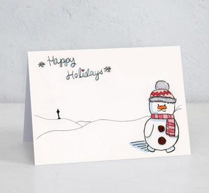 North Pole Snowman (Set of 15) (Designed by patient artist Ryley)