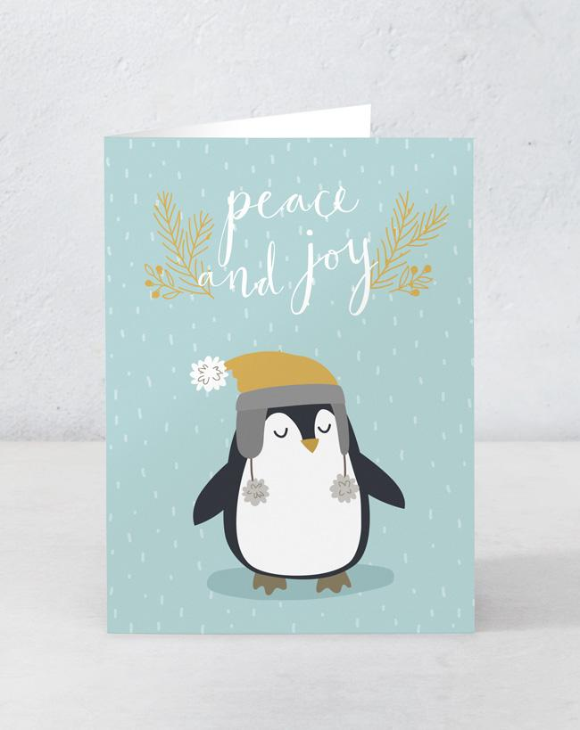 Peace and Joy - Penguin (Set of 15)
