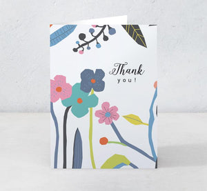 Boxed Assortment of 15 cards: Thank You Garden