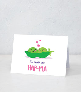 You Make Me Hap-Pea