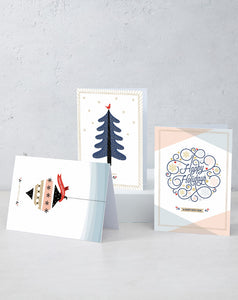 Boxed Assortment of 15 cards: Happy Holidays 2020