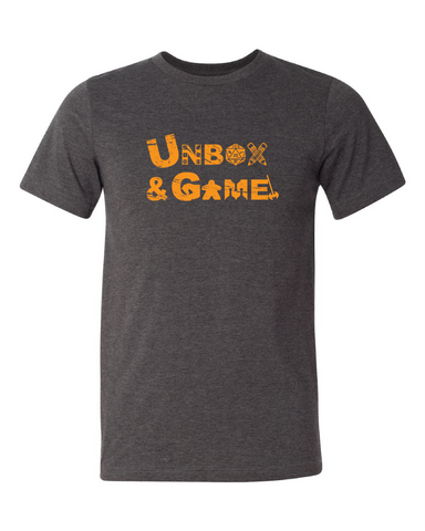 UNBOX & GAME Original Board Game T-Shirt #1