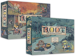 Root Board Game with The Riverfolk Expansion (Base Game Plus Expansion)