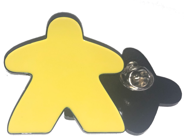 Yellow Meeple Pin